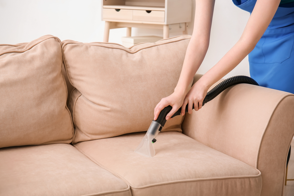 expert upholstery cleaners working on furniture in maricopa az